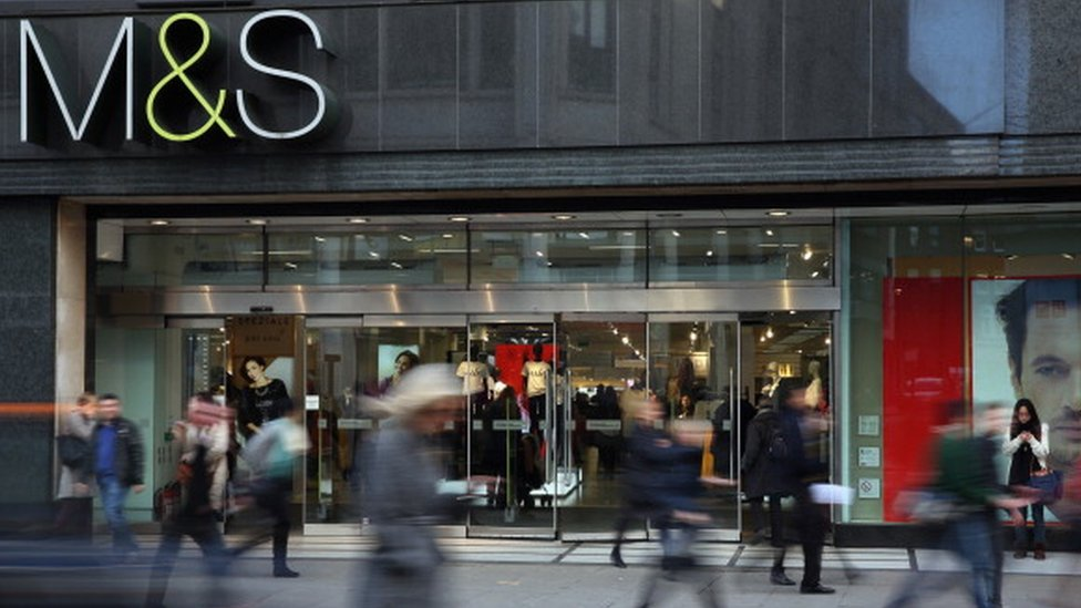 Marks and Spencer store