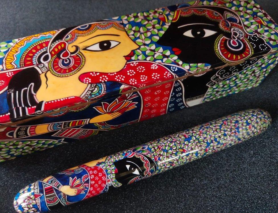 Hand Made English Pen Crafts Ballpoint pen
