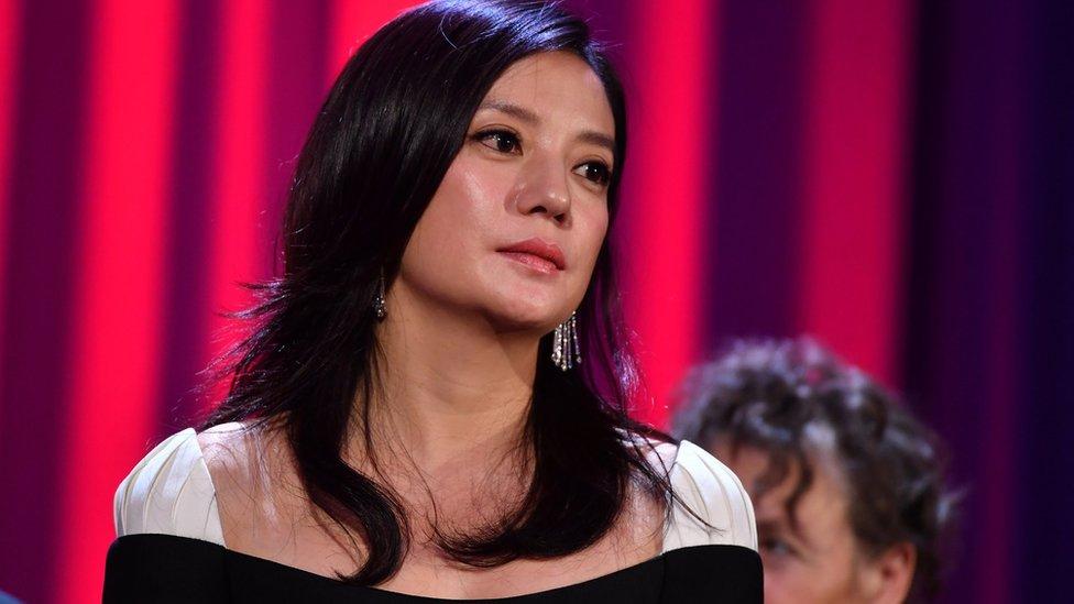 Jury member Zhao Wei attends the opening ceremony during the 73rd Venice Film Festival at Sala Grande on August 31, 2016 in Venice, Italy
