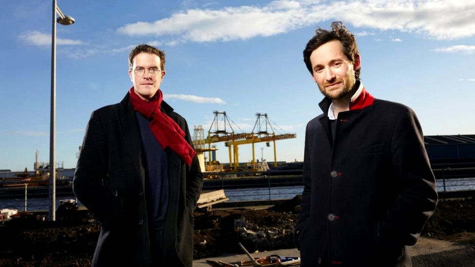 Co-founders Patrick Fletcher and Ian Stirling