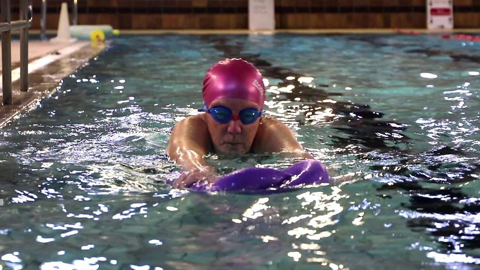 The 73-year-old who finally learned to swim
