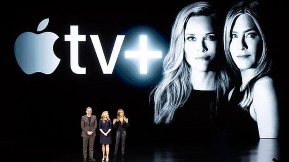 Apple tv plus tanıtımı