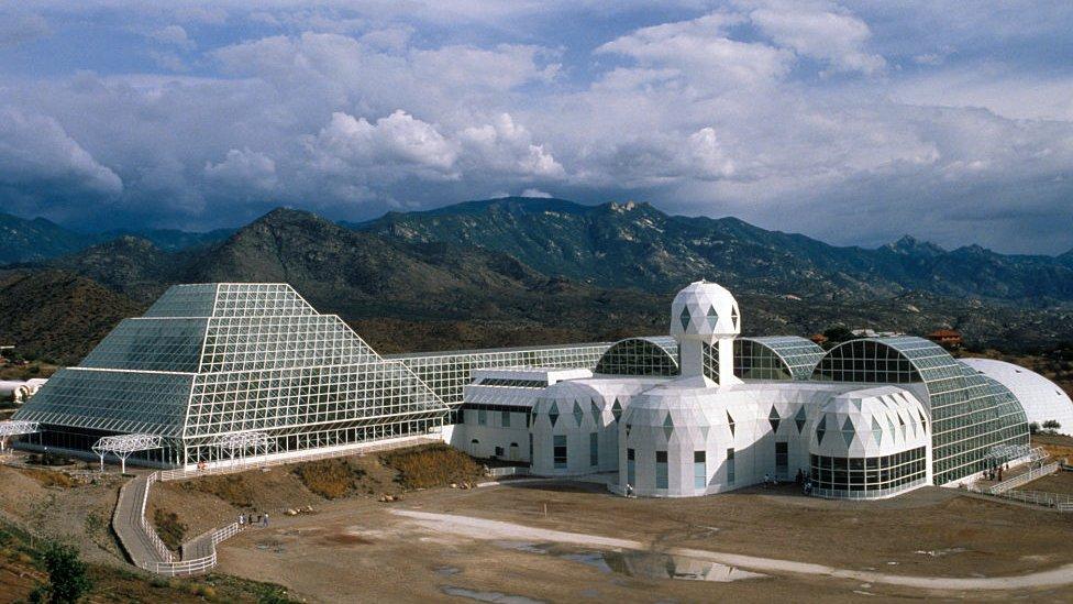 Biosfera 2 en Arizona.