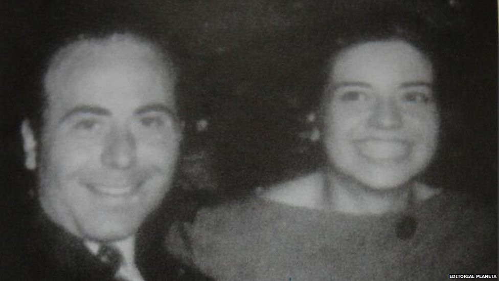 Undated picture of Arquimedes Puccio and his wife