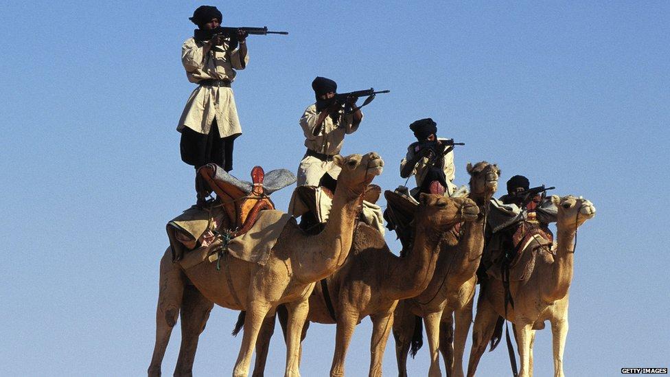 Mauritanian National Brigade in 1996