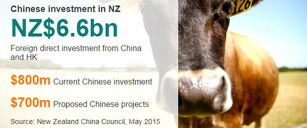 Chinese investment in NZ