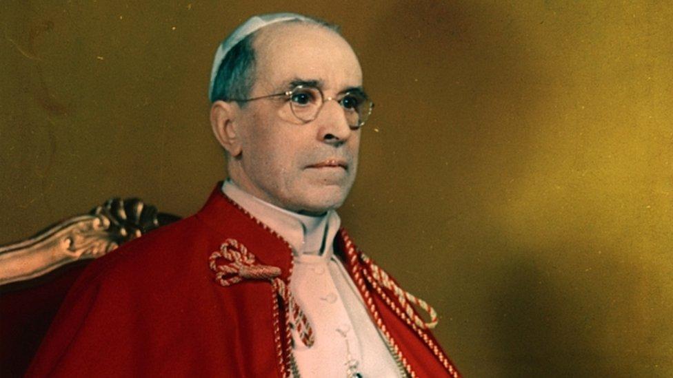 Retrato del papa Pío XII
