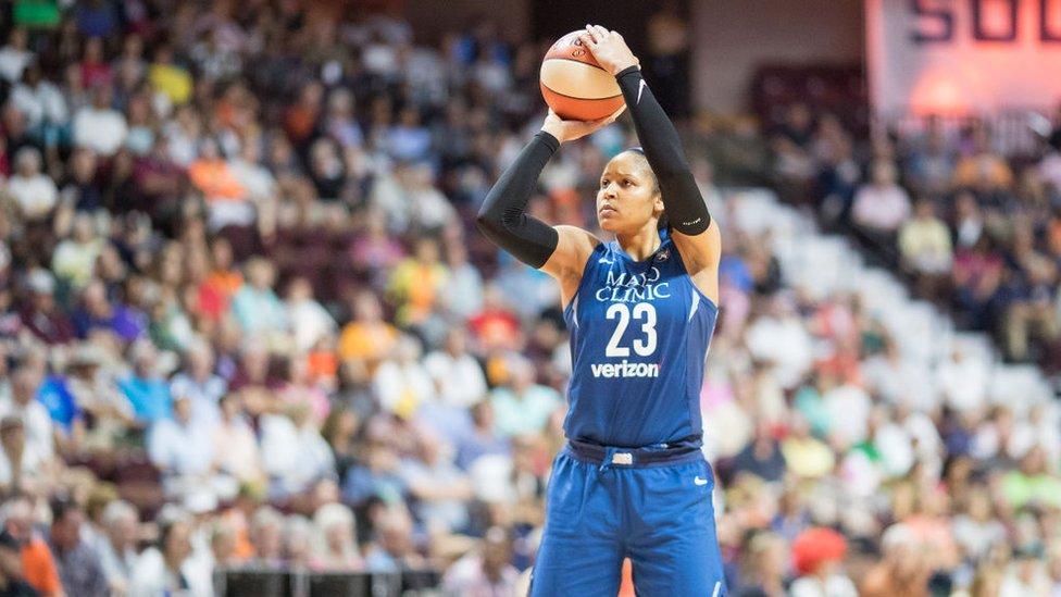 WNBA yıldızı Maya Moore