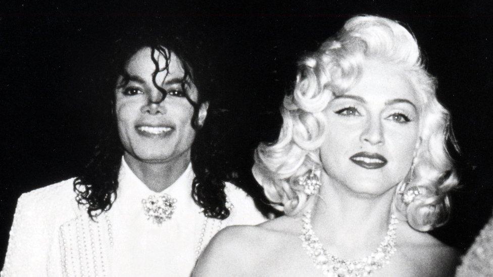 Michael Jackson y Madonna en 1991