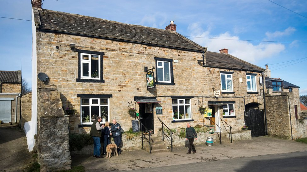 George and Dragon at Hudswell