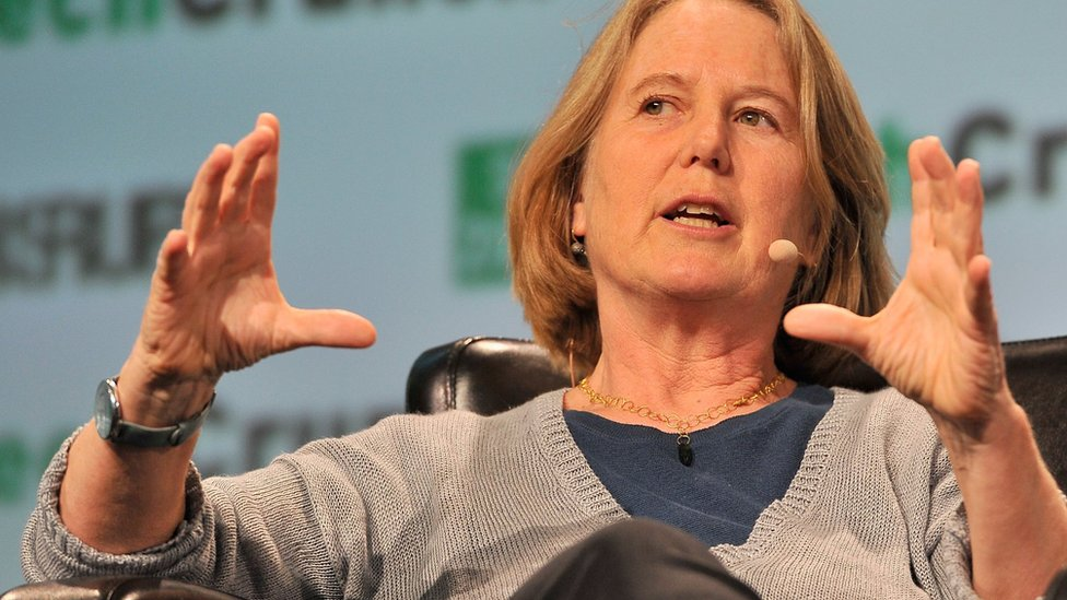 Diane Greene (file pic)