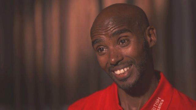 World Athletics 2015: Mo Farah - I never doubt myself