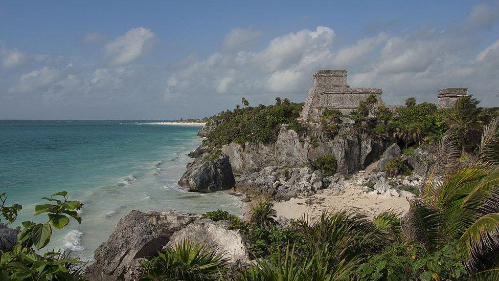 Las ruinas de Tulum, en Quintana Roo, México.