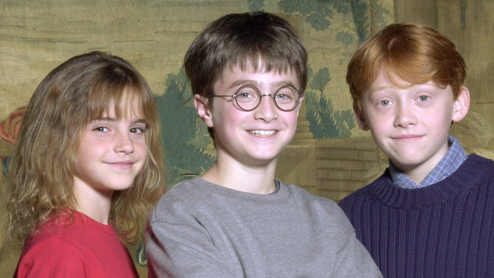 Emma Watson, Daniel Radcliffe y Rupert Grint