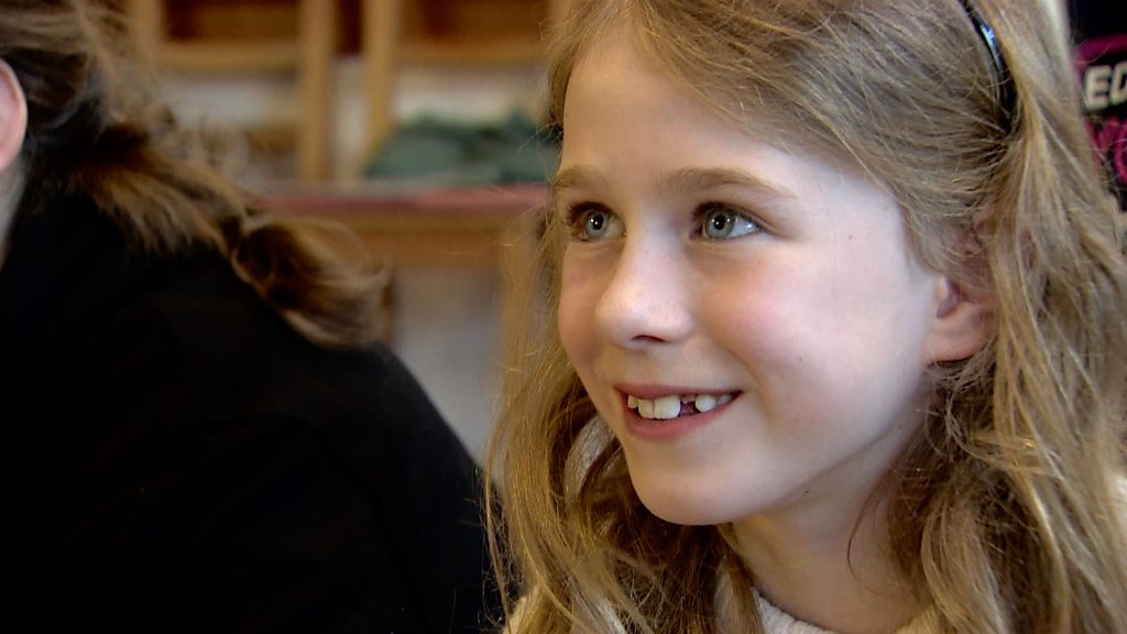 Children learn secrets of performing stand-up comedy