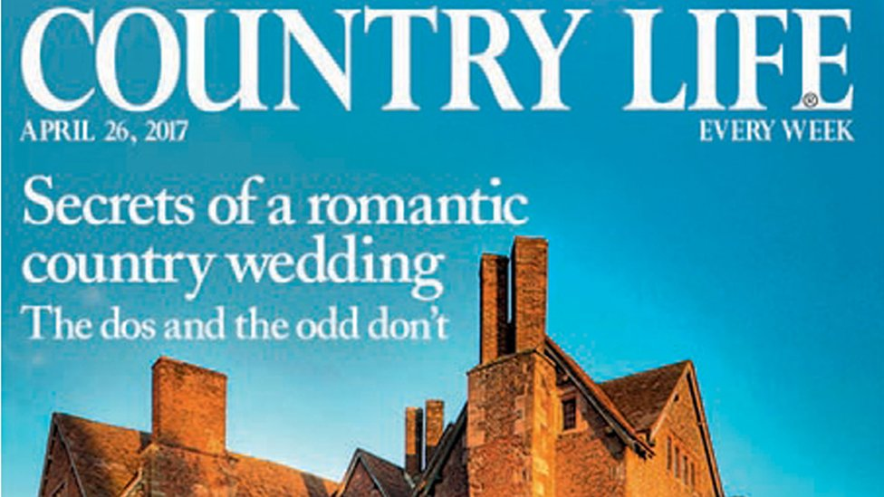 Country Life's cover