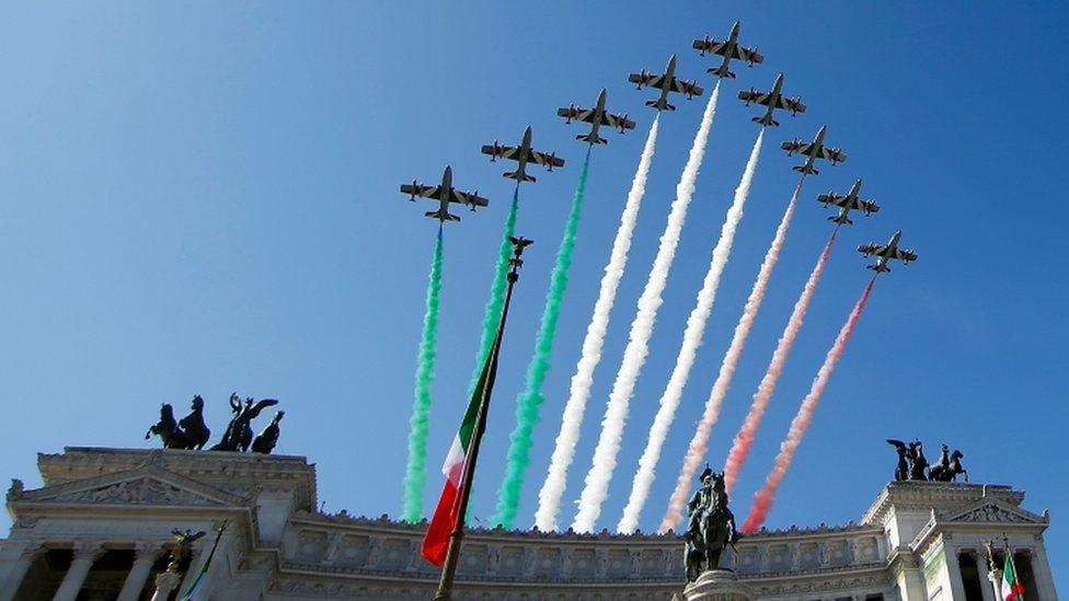 Celebraciones del Día de la República en Italia, 2 de junio de 2018
