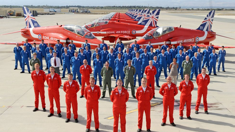 Red Arrows pilots