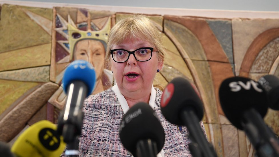 Swedish deputy director of public prosecutions Eva-Marie Persson