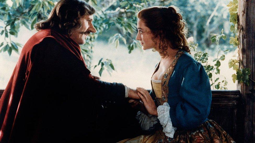 Escena de la película Cyrano de Bergerac
