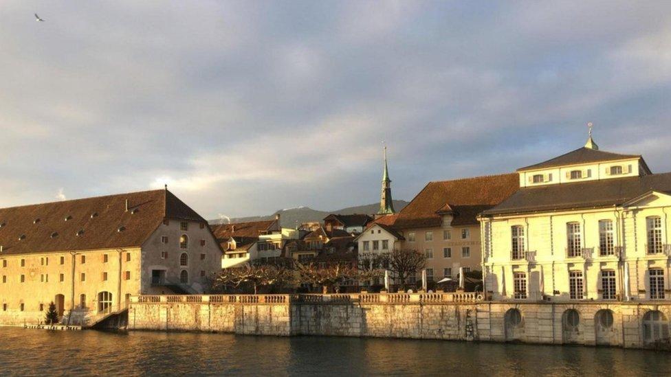Vista de Solothurn