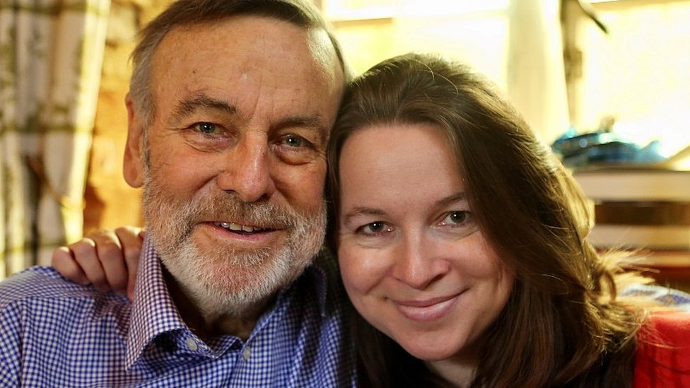 Rachel Clarke y su padre