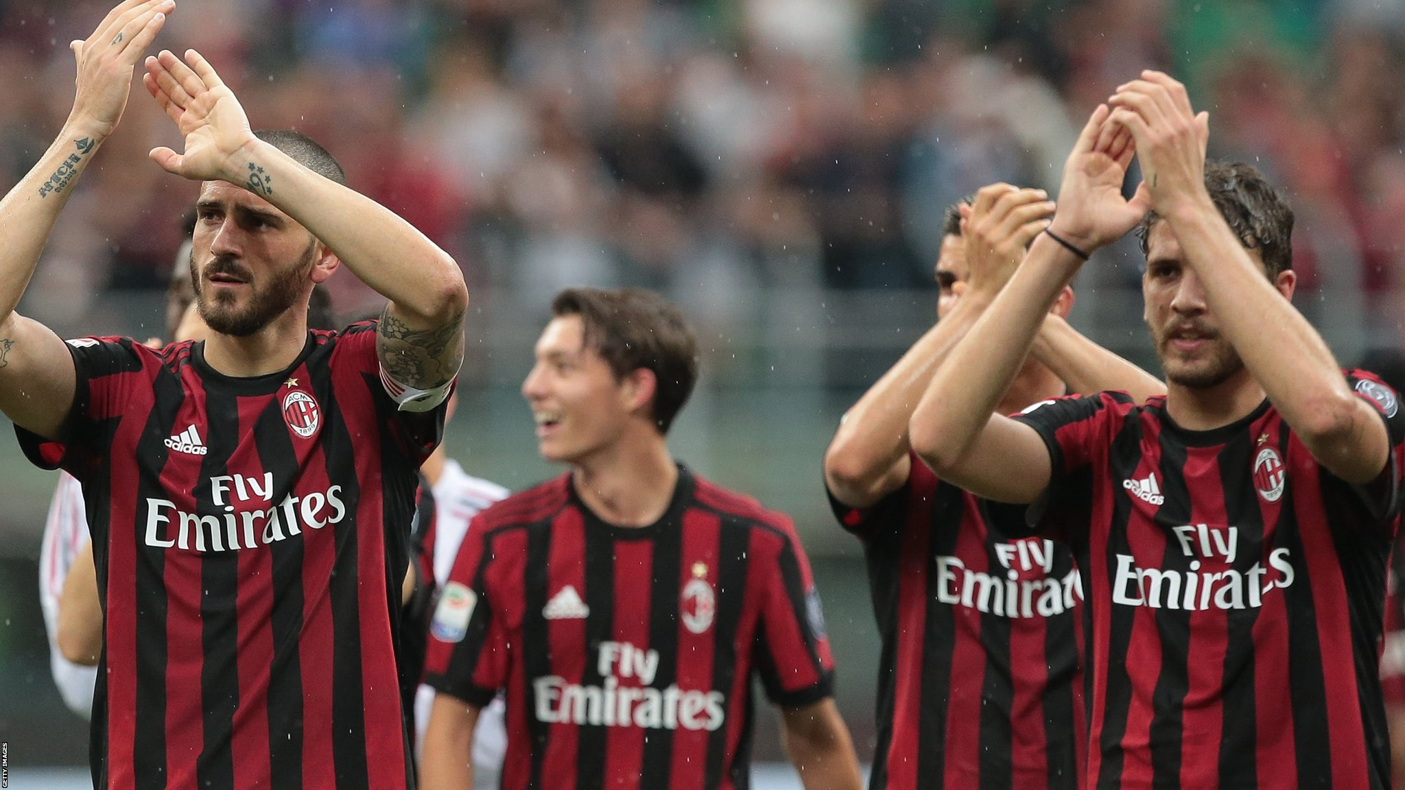 AC Milan: Italian giants' European ban overturned by Court of Arbitration for Sport
