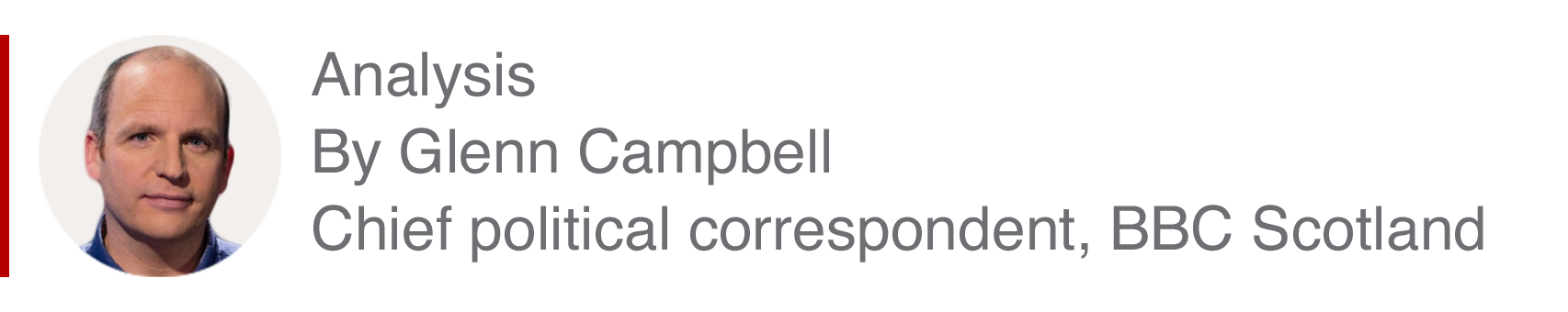 Analysis box by Glenn Campbell, Chief political correspondent, BBC Scotland