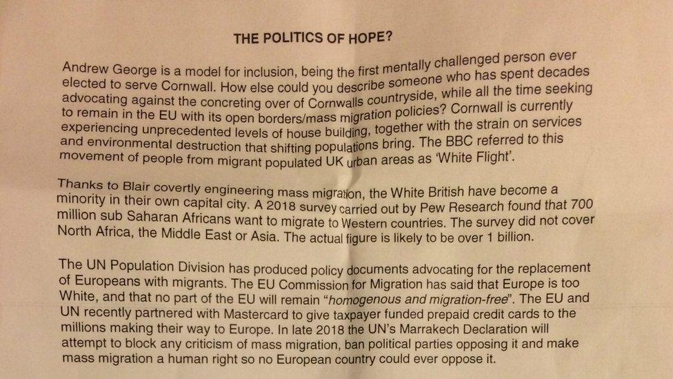 Brexit talk MP slams anti-EU letter as 'filth'