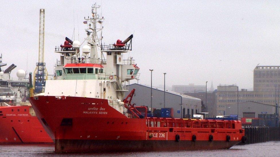 Great Yarmouth stranded ship: New crew joins Malaviya Twenty
