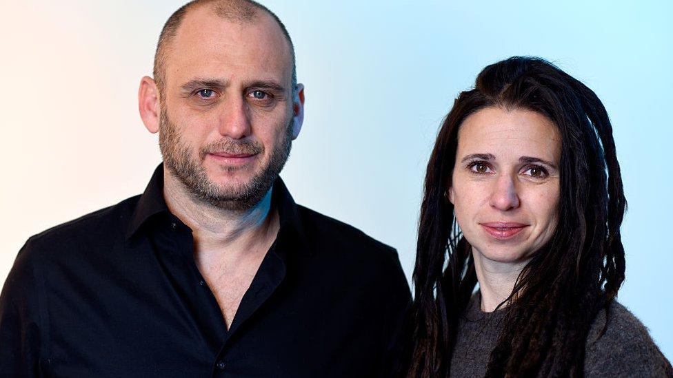 Christina Clusiau y Shaul Schwarz