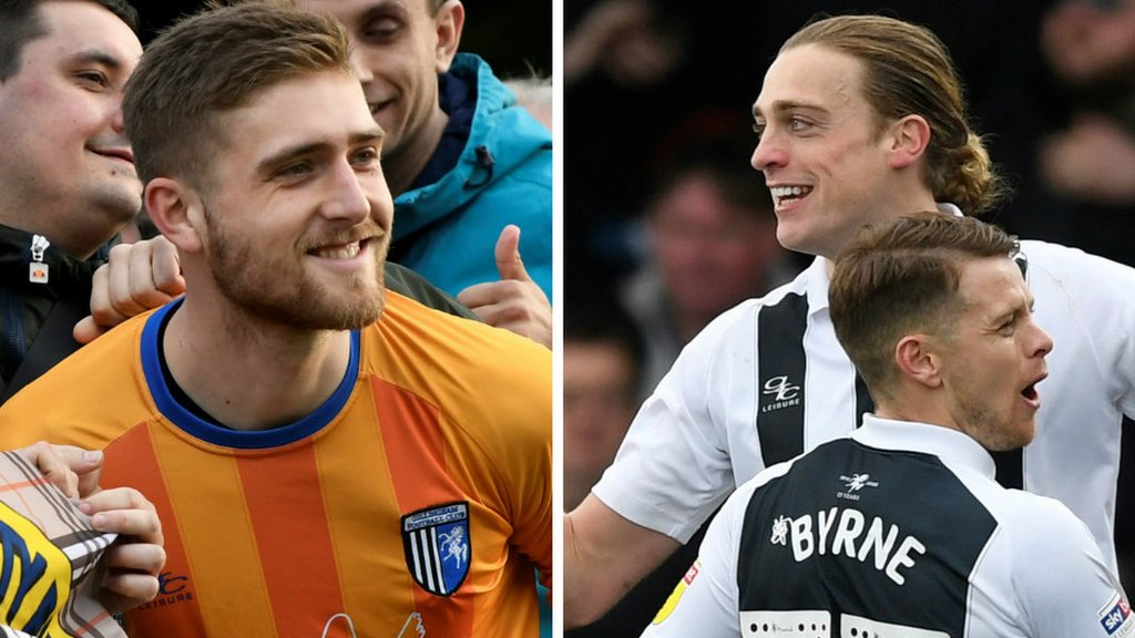 Tom Eaves and Tomas Holy offered new contracts by Gillingham