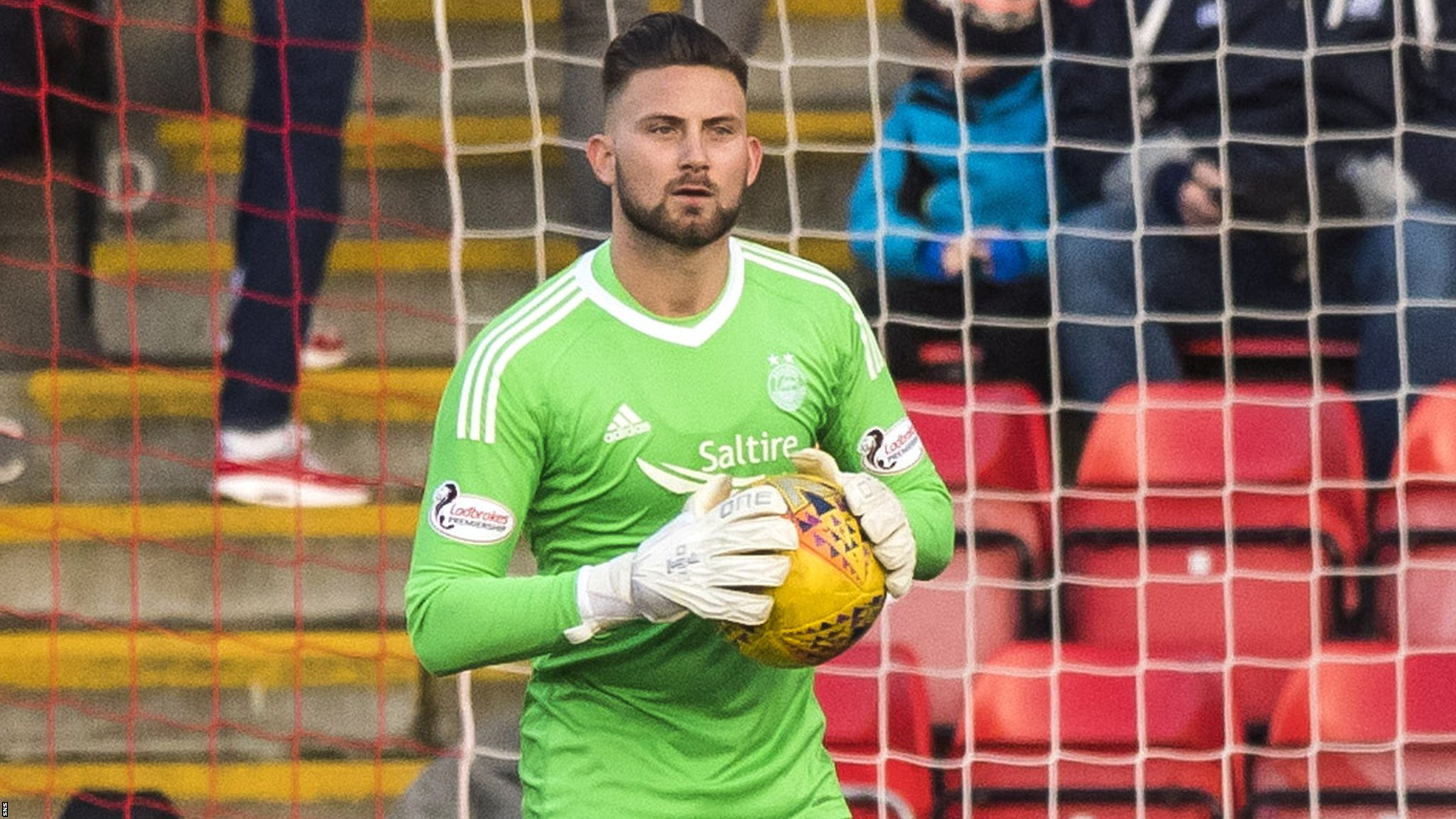 Aberdeen: Goalkeeper Danny Rogers signs two-year contract extension
