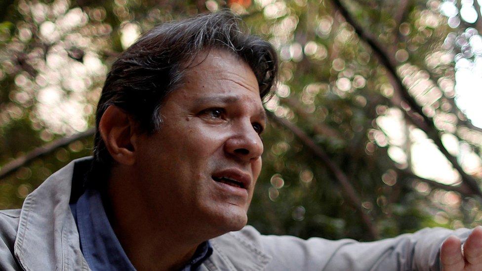 El exalcalde de Sao Paulo Fernando Haddad