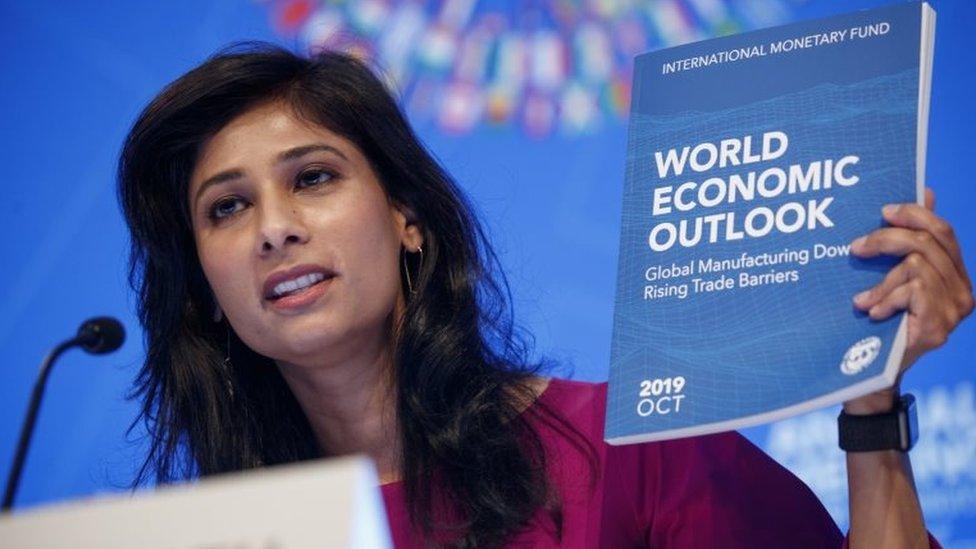 सारी दुनिया के साथ भारत में भी मुश्किल दौर में अर्थव्यवस्था, IMF का अनुमान