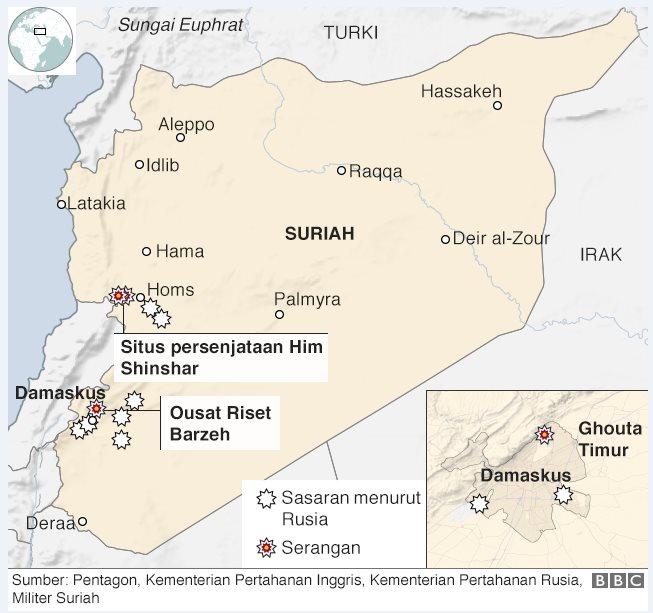 peta serangan