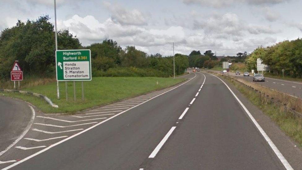Swindon crash death biker named by police