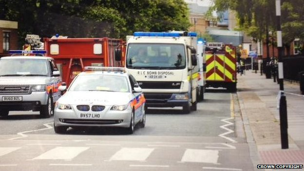Emergency services in Bethnal Green
