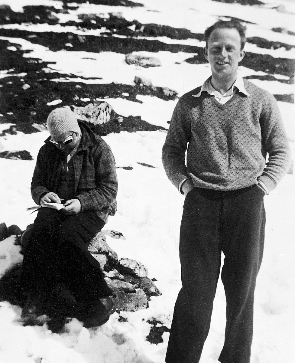 Bohr y Heisenberg en tiempos mejores (1932).