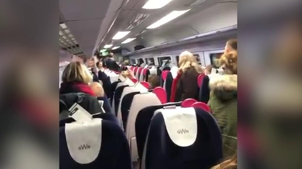Man filmed racially abusing train passengers in Bristol