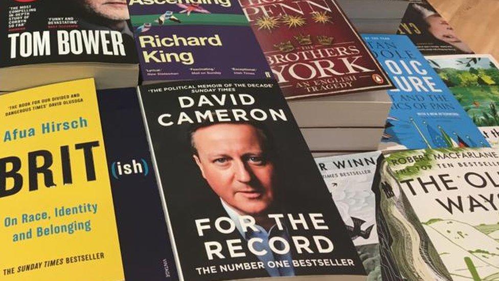 David Cameron autobiography