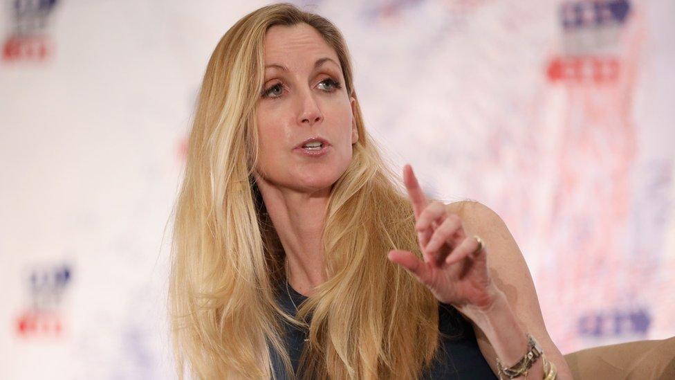 Ann Coulter, comentarista política estadounidense