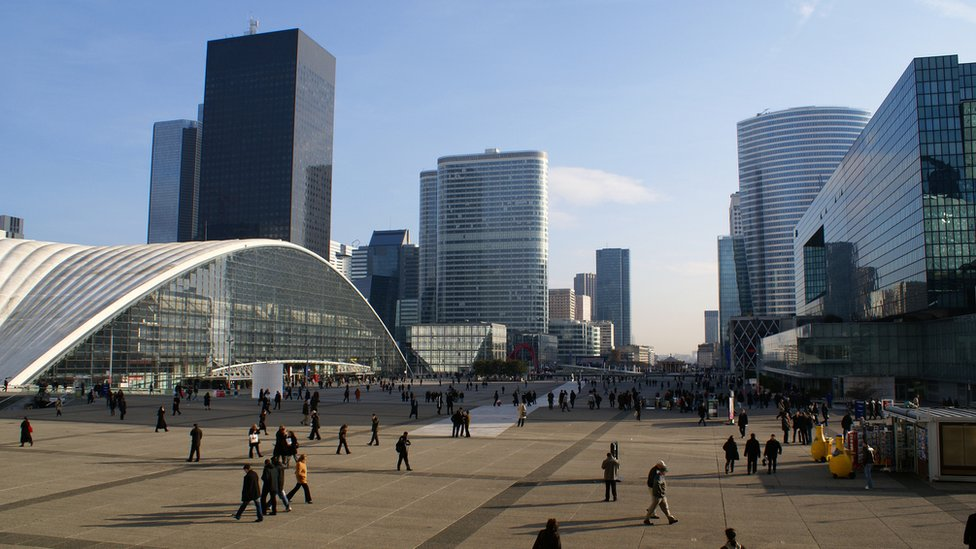 Edificios en París.