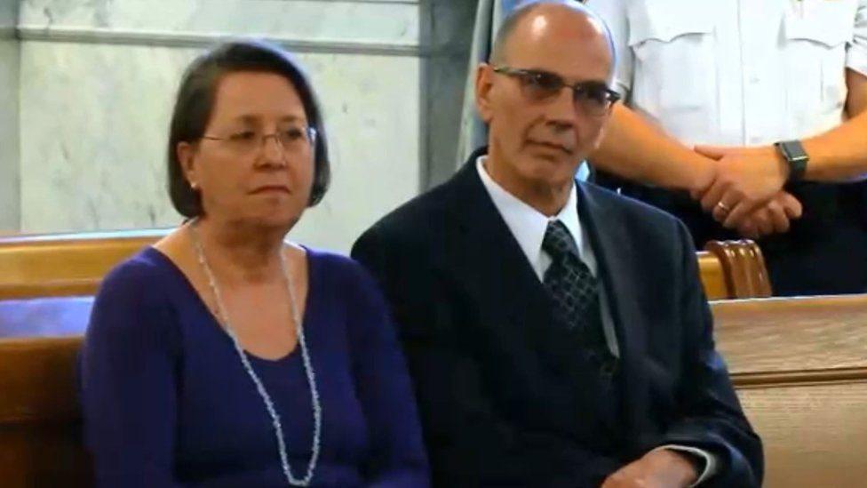 Christina y Mark Rotondo.