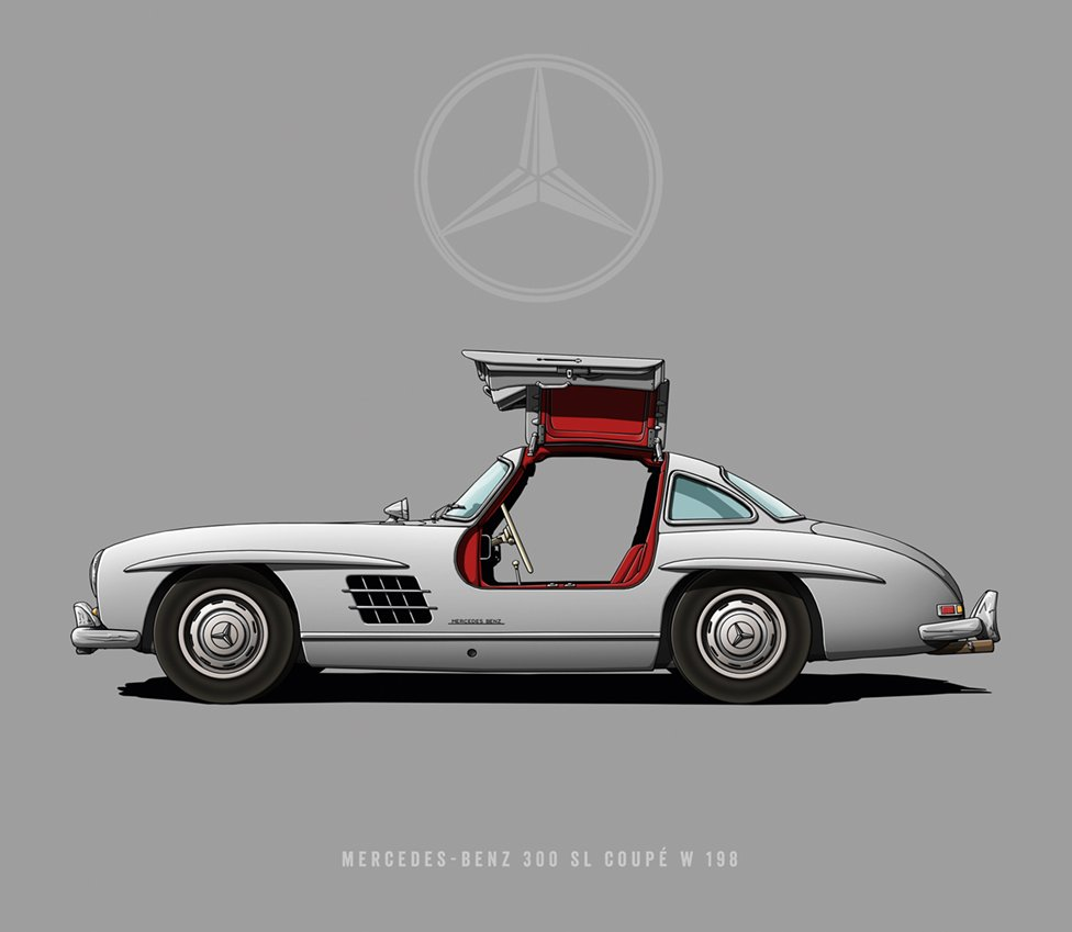 "Mercedes-Benz 300 SL W 198 - ""Gullwing"""