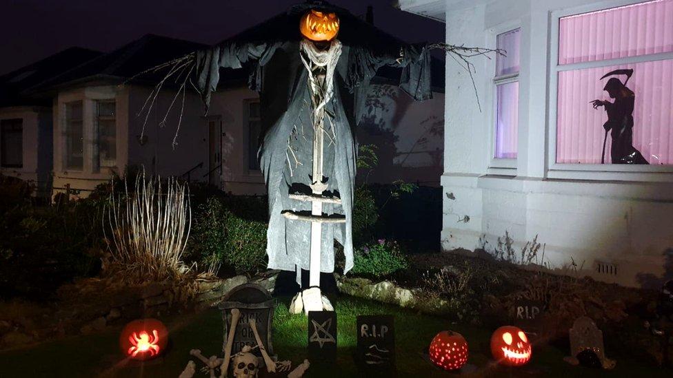 Clarkston scarecrow