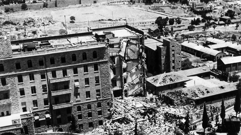 'I survived the bombing of the King David Hotel'