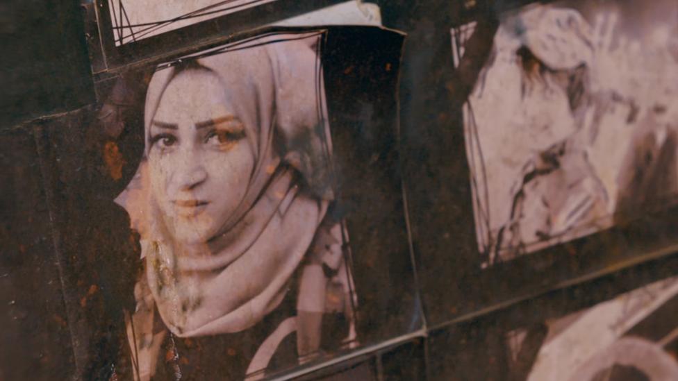 صورة لسارة طالب، الناشطة التي قتلتها ميليشيات في البصرة