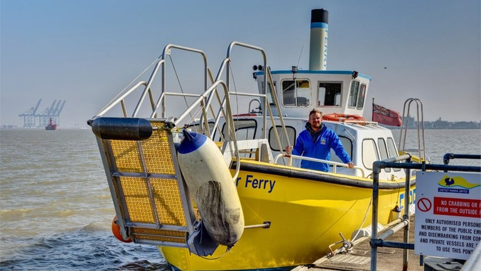 Chris Zemann Harbour Ferry