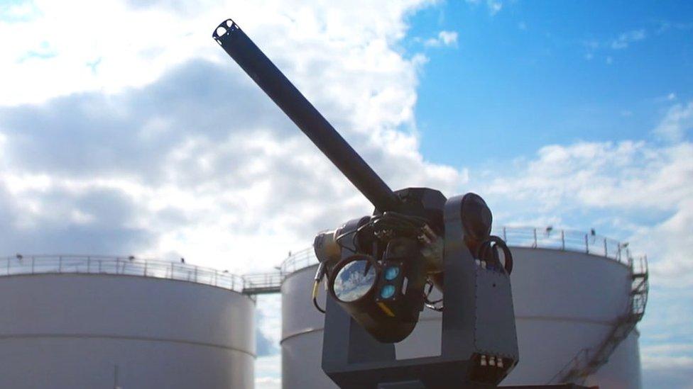 SkyWall 300 anti-drone gun